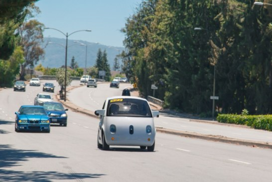 La Voiture Sans Conducteur 100% Google Prend La Route