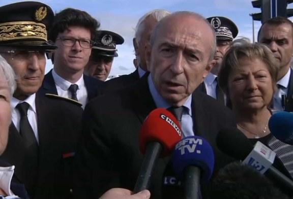 Collomb ne veut pas de « point de fixation » à Calais
