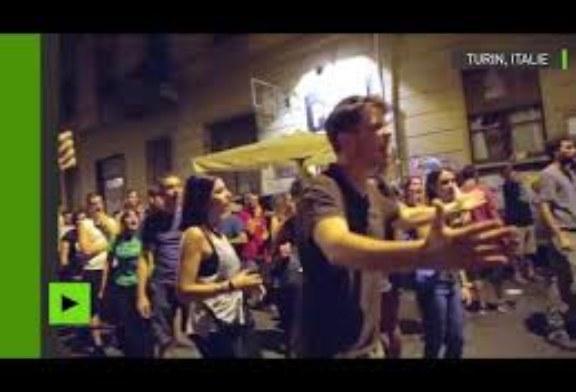 «NOUS VOULONS BOIRE» : UNE MANIFESTATION CONTRE LES MESURES ANTI-ALCOOL TOURNE À L'ÉMEUTE À TURIN