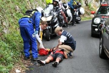 TOUR DE FRANCE: Cinq abandons et sept coureurs hors-délai lors de la 9e étape du Tour