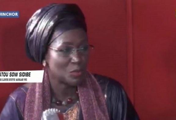 ACCALMIE EN CASAMANCE : Amsatou Sow Sidibé réclame sa part des efforts fournis pour y arriver