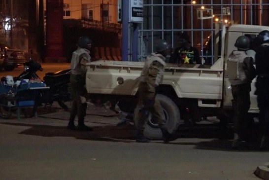 BURKINA FASO: Fin de l'attaque «terroriste» dans un café de Ouagadougou