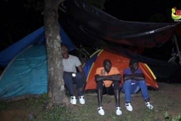 EVENEMENTS: Quand les tentes remplacent les maisons