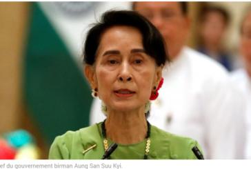 EN PLEINE CRISE DES ROHINGYA, Aung San Suu Kyi annule un déplacement à l'ONU