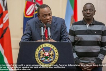 ELECTION ANNULÉE AU KENYA: Surprise et embarras de la communauté internationale