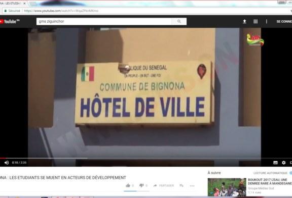 BIGNONA : Les étudiants se transforment en agents de développement