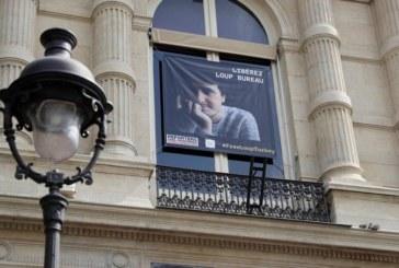 APRES SA LIBERATION EN TURQUIE, le journaliste français Loup Bureau est à Paris