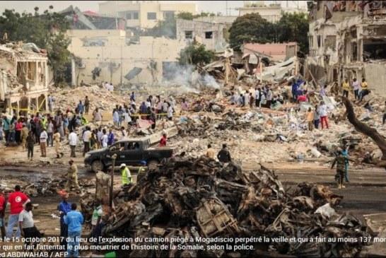 SOMALIE: Deuil national après le double attentat sans précédent à Mogadiscio