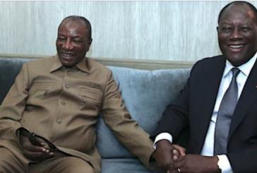 CÔTE D'IVOIRE: Le Chef de l'Etat a effectué une visite d'Amitié et de Travail en Guinée