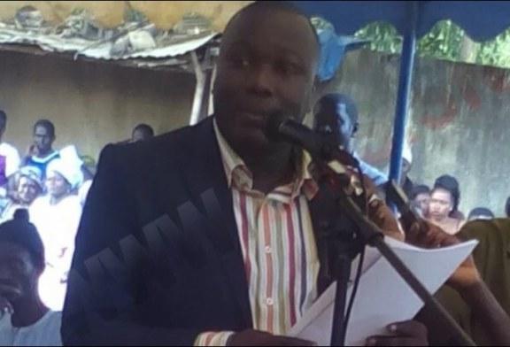 ERNEST SAMBOU, secrétaire général de l'ANRAC: le sacre d'un militant endurant