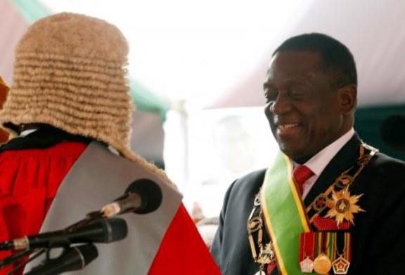 Le «crocodile» Emmerson Mnangagwa investi président du Zimbabwe