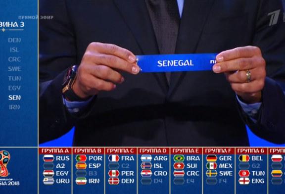 Mondial 2018: Egypte, Maroc, Nigeria, Sénégal et Tunisie sont fixés