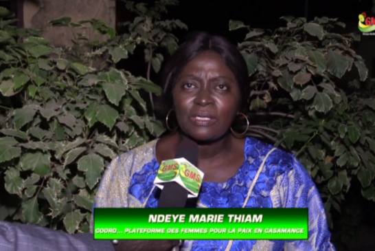 NOEL A ZIGUINCHOR : Ndèye Marie Thiam garde une pensée pour les personnes opprimées