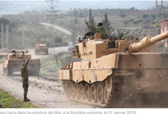 SYRIE: Des soldats turcs pénètrent dans la région d'Afrine
