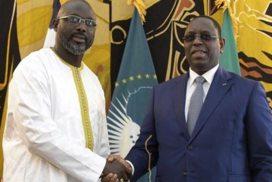 LE LIBÉRIEN GEORGE WEAH effectue son premier déplacement au Sénégal