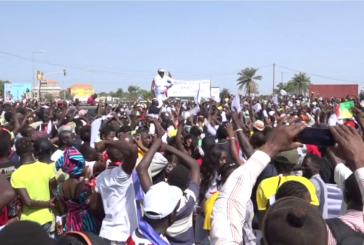 BISSAU:Des milliers de personnes marchent contre les sanctions de la CEDEAO