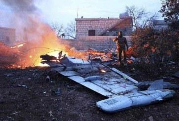 SYRIE: Un avion russe abattu par des rebelles dans la province d'Idleb