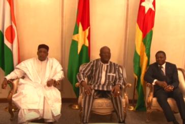 BURKINA FASO: Les présidents Issufu du Niger et Gnassingbé du Togo apportent leur soutien