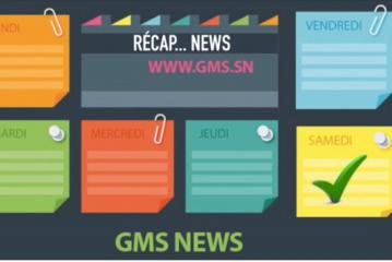 RECAP NEWS GMS DU DIMANCHE 29 AVRIL 2018