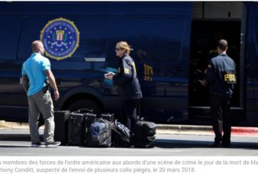 COLIS PIÉGÉS AU TEXAS: Le suspect s'est fait exploser dans sa voiture