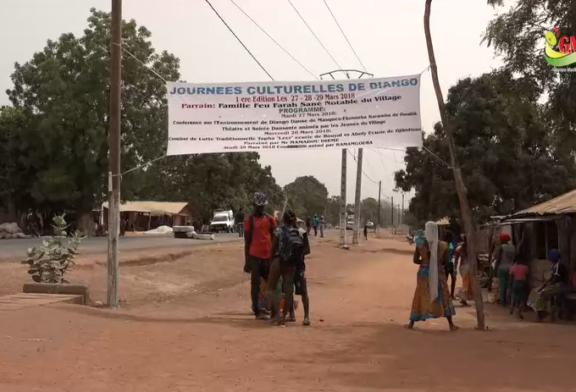 JOURNÉES CULTURELLES DE DIANGO: Eau, éducation, santé et environnement au cœur des préoccupations des populations.
