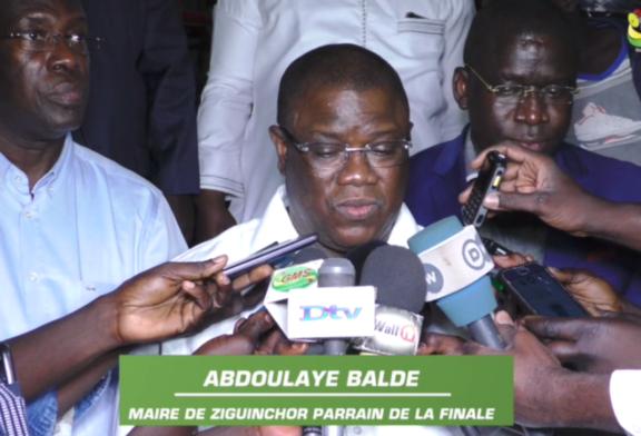 FINALE DE LA COUPE DU MAIRE : Baldé annonce la réalisation de nouvelles infrastructures sportives