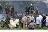 CUBA: Un Boeing 737 s'écrase peu après son décollage de La Havane .