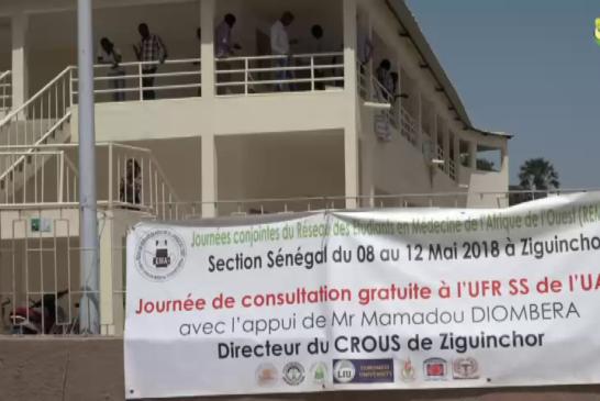 CONSULTATIONS MÉDICALES GRATUITES : LE REMAO au service des populations de Ziguinchor