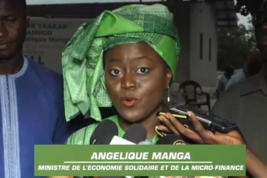 ENAMPORE: Aminata Angélique Manga promet route bitumée et électricité