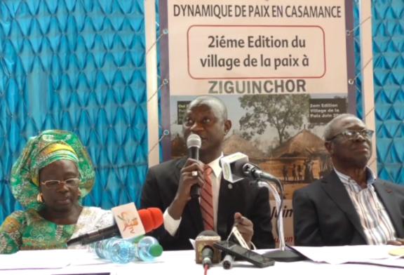 ZIGUINCHOR ABRITE LA 2ème édition du village de la paix