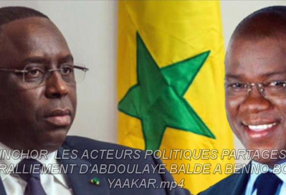 ZIGUINCHOR : Les acteurs politiques partagés sur le ralliement d'Abdoulaye Baldé à Benno Bokk Yaakaar