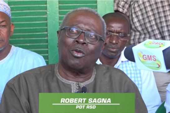 RALLIEMENT À BBY : Robert Sagna salue la clairvoyance du député maire Abdoulaye Baldé