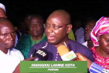 JOURNÉESCULTURELLES DE TENDOUCK, Mamadou Lamine Keita encourage les jeunes