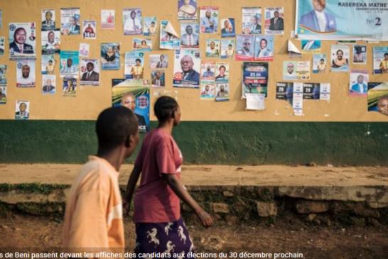 RDC: Report des élections au mois de mars à Beni, Butembo et Yumbi