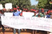 ZIGUINCHOR : PROTESTATION DES POPULATIONS DANS LA COMMUNE D'ENAMPORE