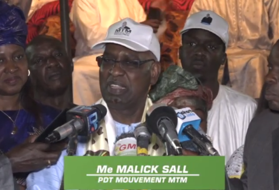 ZIGUINCHOR: Le combat pour la réélection de Macky Sall porte par le mouvement citoyen MTM