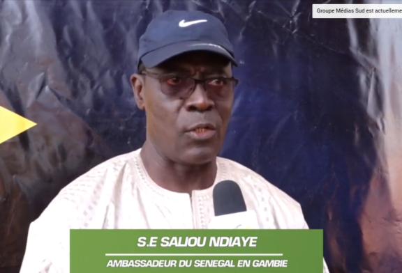 PONT SUR LA GAMBIE: Fin de la souffrance des usagers selon l'ambassadeur Saliou Ndiaye