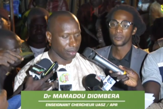 ZIGUINCHOR : Le DR Mamadou Diombera lance son S.C.M.R
