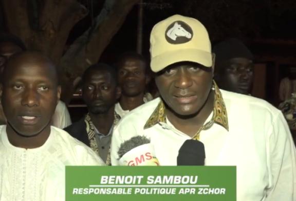 ZIGUINCHOR: Benoit Sambou invite à des élections apaisées