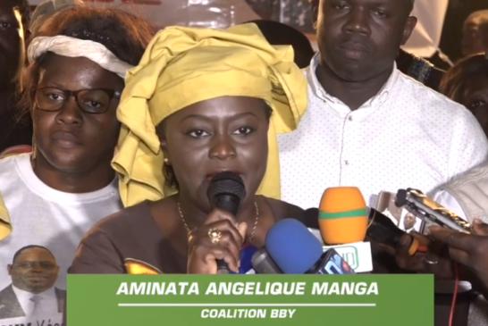 ZIGUINCHOR: Angélique Manga dope sa base pour la réélection de Macky Sall