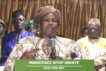 ZIGUINCHOR: Innocence Ntap Ndiaye invite Wade à voter Macky Sall
