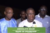 ZIGUINCHOR: Abdoulaye Baldé satisfait de la dynamique unitaire relevé par les imams de l'arrondissement de Niassya
