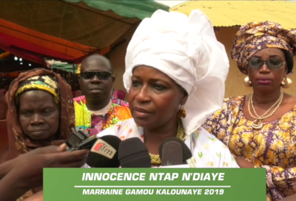 ZIGUINCHOR: Innocence Ntap Ndiaye rend hommage à Macky Sall pour ses réalisations en Casamance