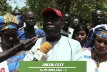 1ERMAI BIGNONA: Abdou Faty du SELS/A invite l'état à appliquer le FAST TRACK sur les revendications