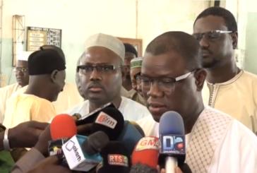 ZIGUINCHOR: Abdoulaye Baldé réagi sur l'appel de l'imam ratib