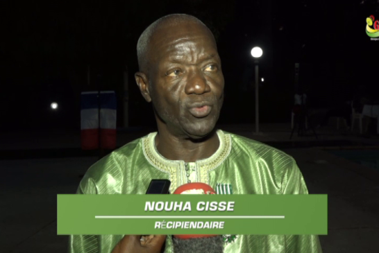 ZIGUINCHOR : Quand Nouha Cissé dédie sa médaille aux artisans de paix en Casamance.