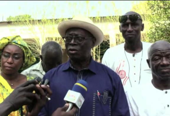 GAMBIE: Robert Sagna prend langue avec les réfugiés casamançais