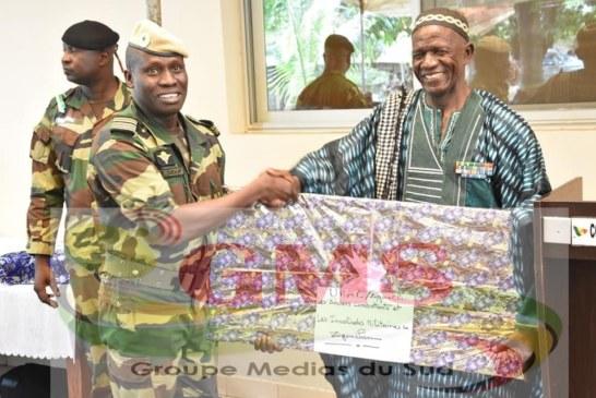 ZIGUINCHOR:  Colonel Khar Diouf et le lieutenant-colonel El Hadji Oumar Faye qui quittent leurs fonctions de commandants de la zone militaire numéro 5