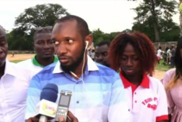 BIGNONA: Accompagnement de la jeunesse le président de la zone 2A s'adresse aux autorités