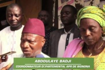 BIGNONA : L'APR se prononce sur l'affaire des 94 milliards